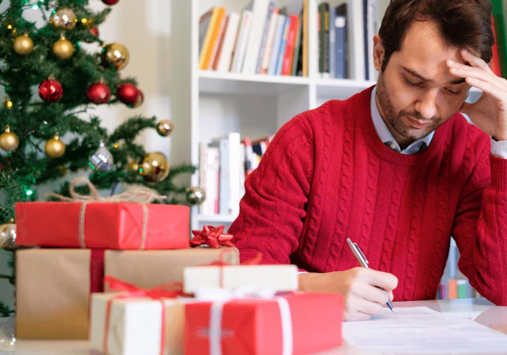 Haz un presupuesto para tus compras navideñas y apégate a él.