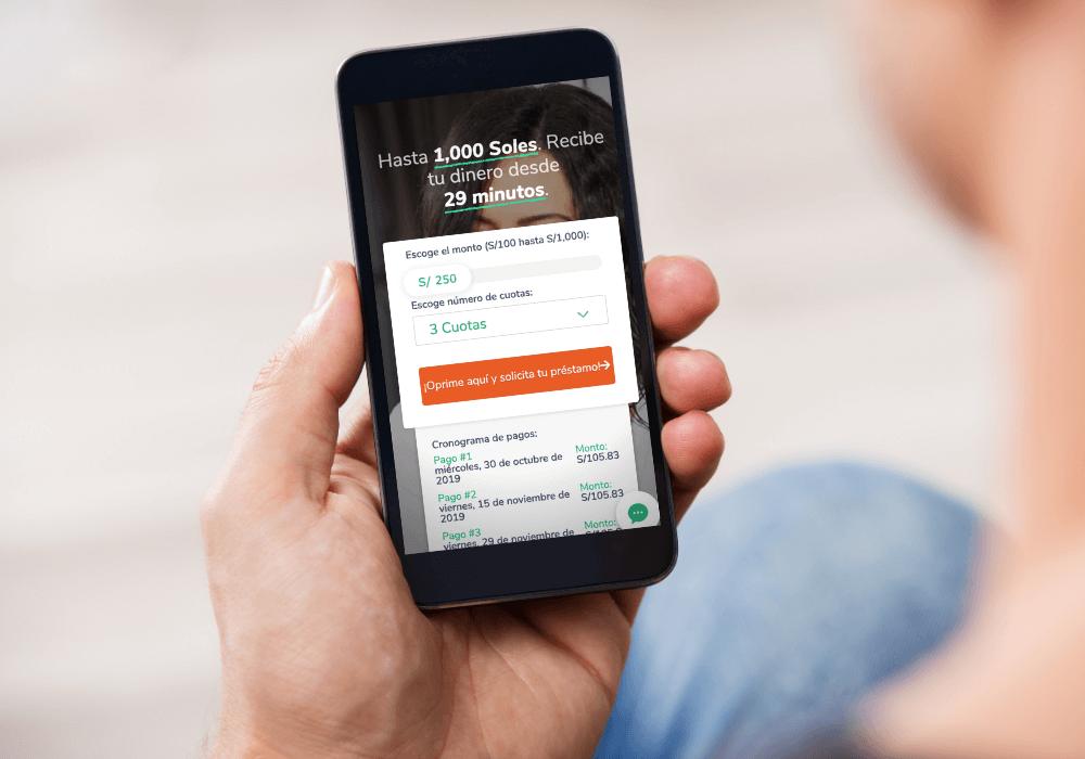 En Apurata puedes obtener un crédito personal desde tu celular